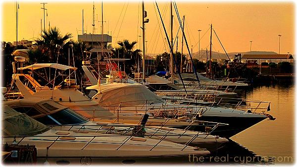 Boats In Larnaca