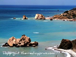 Paphos Travel Aphrodites Rock