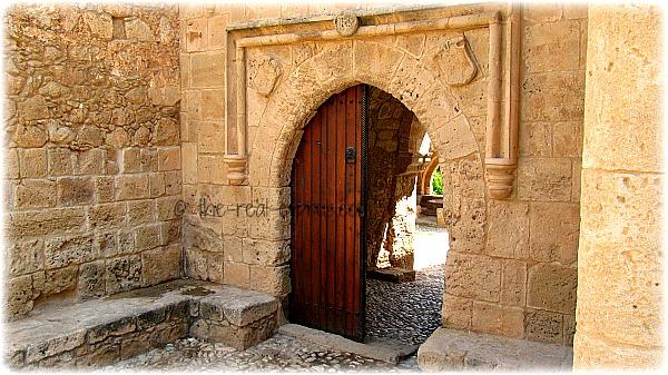 Ayia Napa Monastery Door