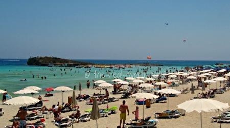 napa agia Cyprus nudist beach