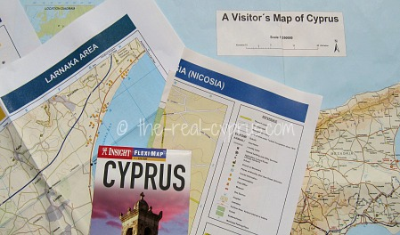 cyprus maps