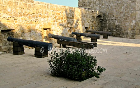Larnaca Castle Cannons
