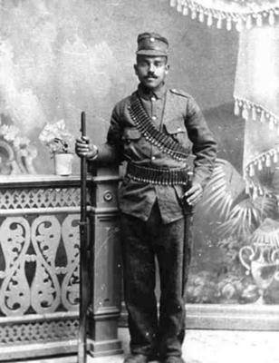 George Tanos Greek Army 1912-1913  Balkan War