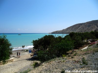 Pissouri Beach Car Park