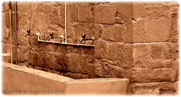 Mosque Feet Washing Area
