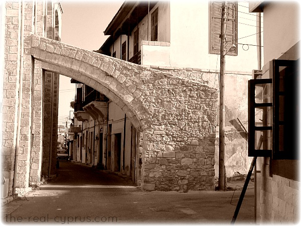 Larnaca Mosque Side Street