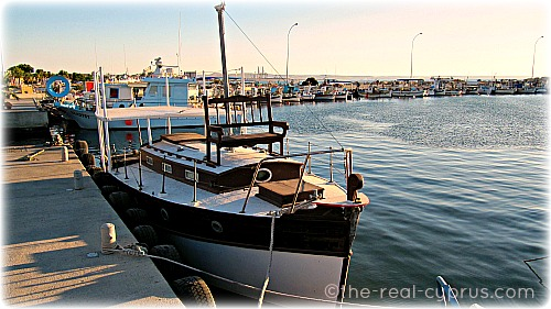 Larnaca Boat Docked