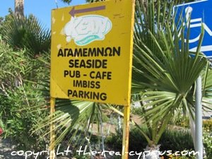 Pissouri Agamemnon Cafe